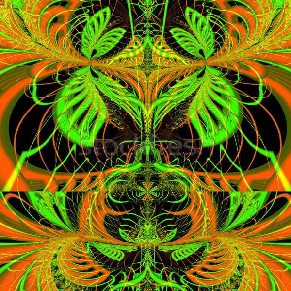 Colorful Fractal Background. Stock photo © yurkina