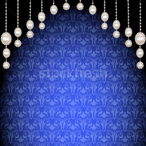 真珠 実例 テクスチャ デザイン 石 ストックフォト © yurkina