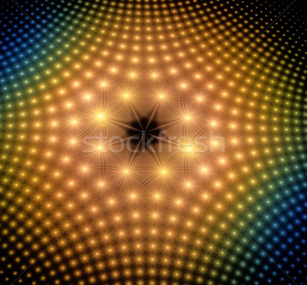 Fractal illustration résumé soleil lumière Photo stock © yurkina
