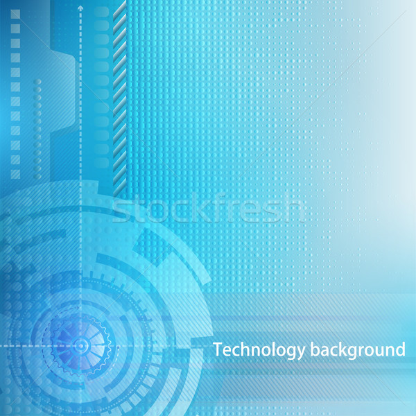 Abstract technology background. Concept of industrial design Stock photo © yurkina