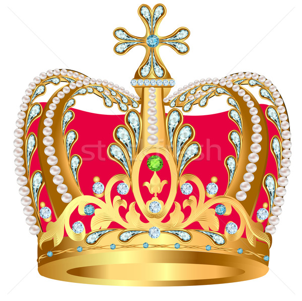 Royal Gold Crown  Buy this stock illustration and explore