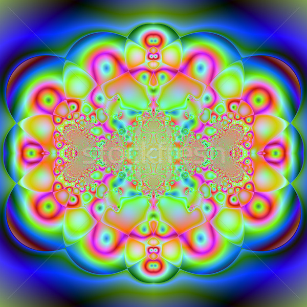 カラフル フラクタル 自然 現象 数学の セット ストックフォト © yurkina