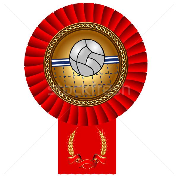Röplabda labda aranyérem bürokrácia illusztráció számítógép Stock fotó © yurkina