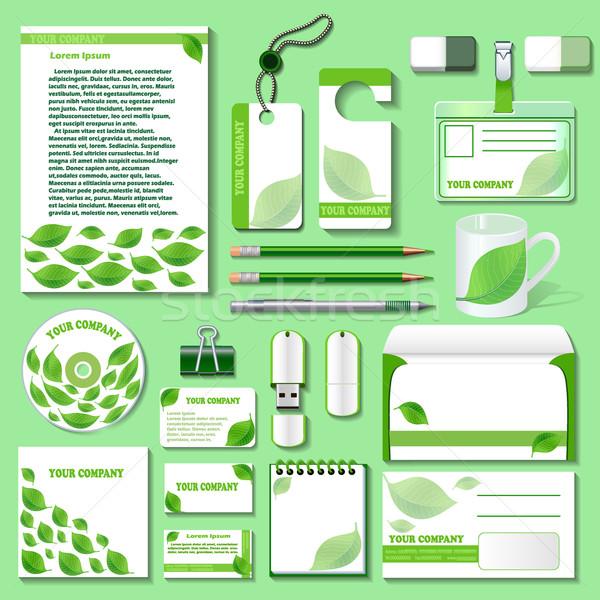 デザインテンプレート ビジネス オブジェクト 環境の 実例 自然 ストックフォト © yurkina
