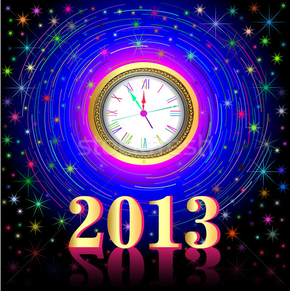 of the high points on the eve of 2013 Stock photo © yurkina