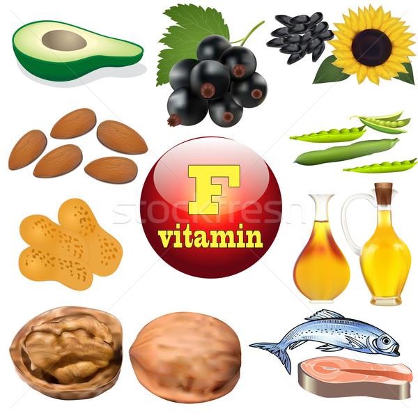 ビタミン コンテンツ 工場 動物 製品 実例 ストックフォト © yurkina