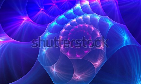 fractal illustration background sea shell on a clear day Stock photo © yurkina