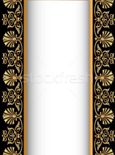 ストックフォト: 古い · アンティーク · パターン · 実例 · デザイン