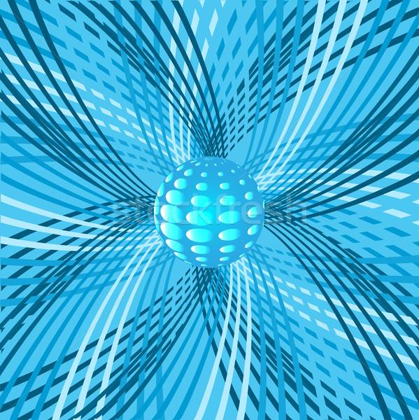 аннотация сфере иллюстрация дизайна мяча шаблон Сток-фото © yurkina