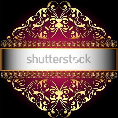 crown tiara womens gold with precious stones Stock photo © yurkina