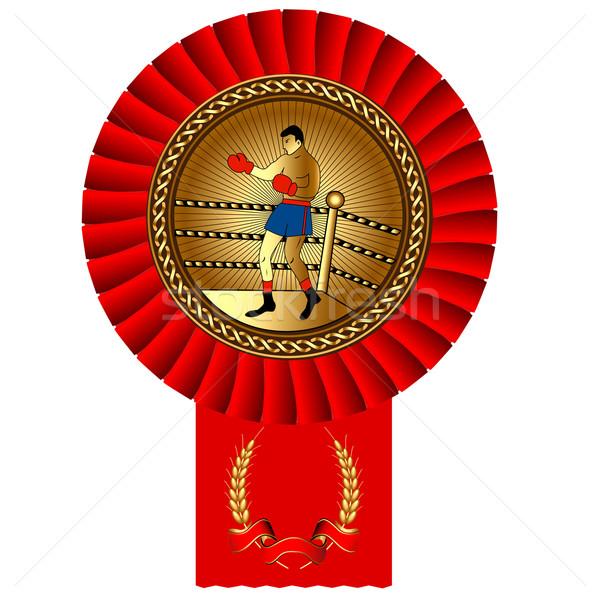 Vak gouden medaille bureaucratie illustratie vergadering technologie Stockfoto © yurkina