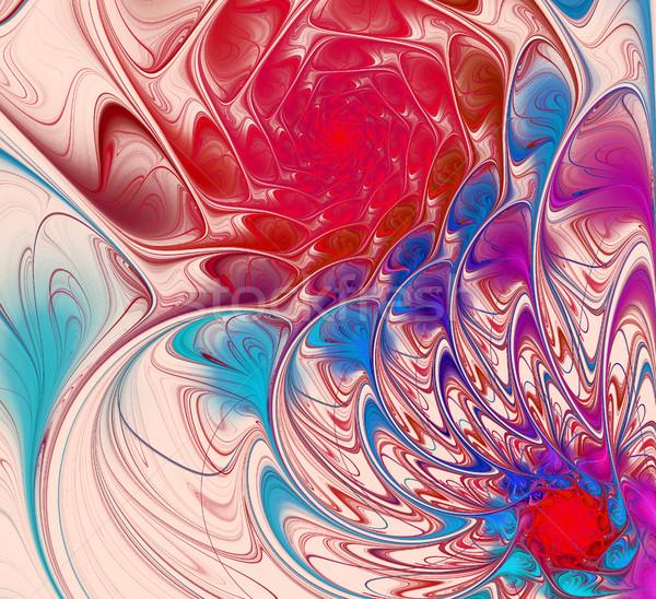 実例 明るい 色 スパイラル 1泊 フラクタル ストックフォト © yurkina