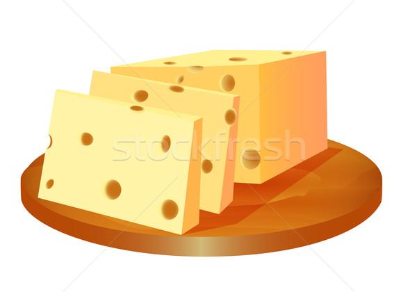 チーズ カット ボード 実例 食品 芸術 ストックフォト © yurkina