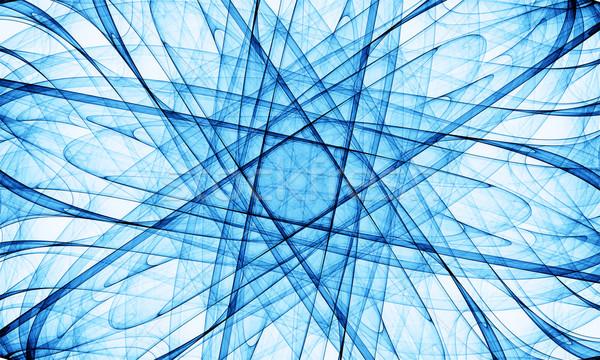 Mavi soyut yüksek kalite render görüntü Stok fotoğraf © yurok