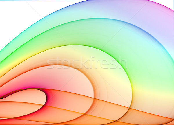 Tarka absztrakció magas minőség renderelt dizájn elem Stock fotó © yurok