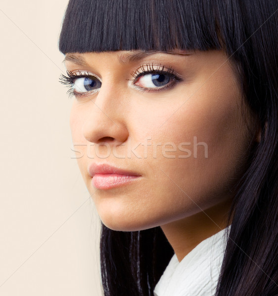 confident brunette Stock photo © yurok