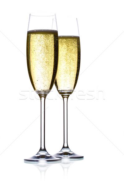 champagne flutes Stock photo © yurok