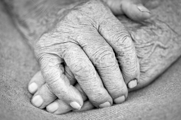 old woman hands Stock photo © yurok