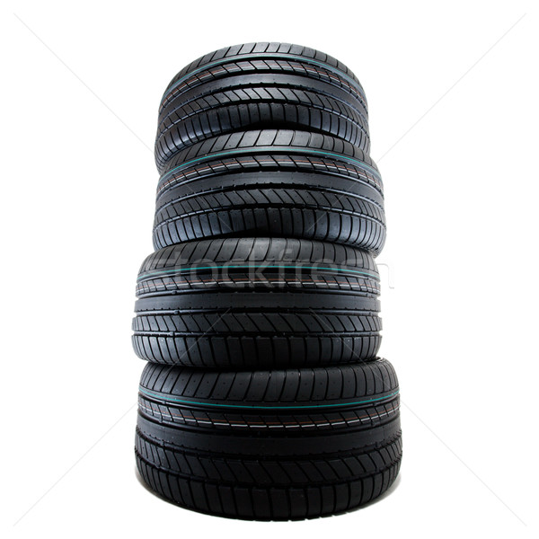 Esportes verão pneus isolado novo Foto stock © yurok