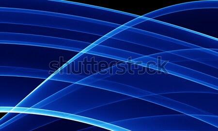 Foto d'archivio: Abstract · blu · alto · qualità · reso · elemento