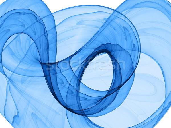 Mavi dinamik yüksek kalite render görüntü Stok fotoğraf © yurok