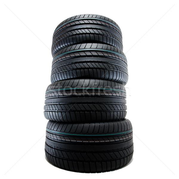 sport summer tires, isolated Stock photo © yurok