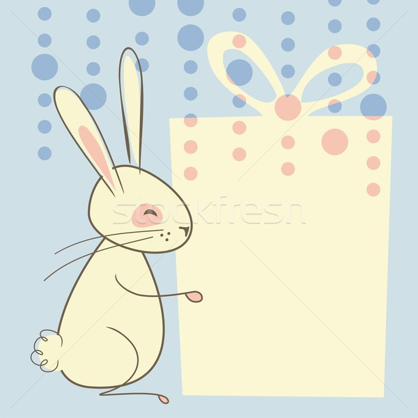 Easter Rabbit Background Stock photo © yurumi