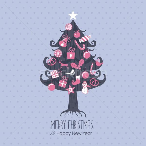 Assorted Christmas Tree Stock photo © yurumi