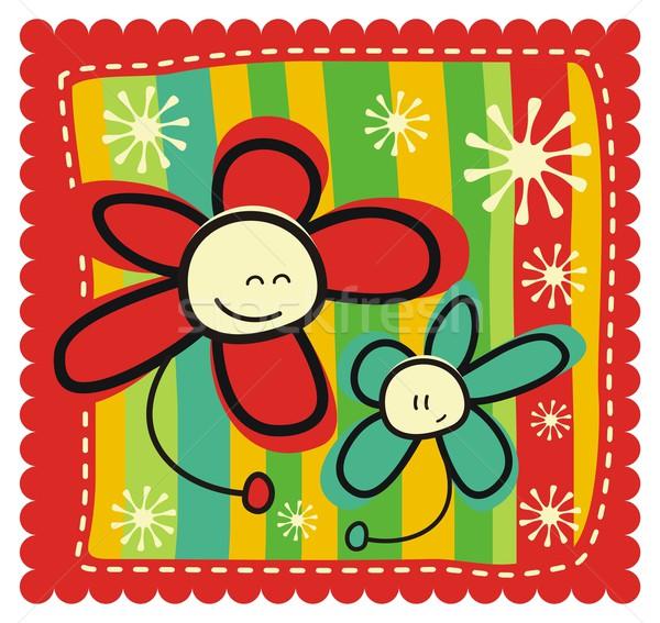 Mother's Day Greeting Card Stock photo © yurumi