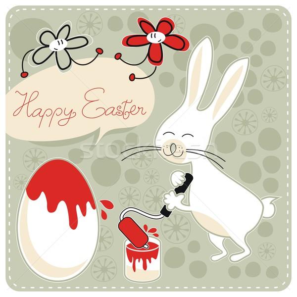 Happy Easter Stock photo © yurumi