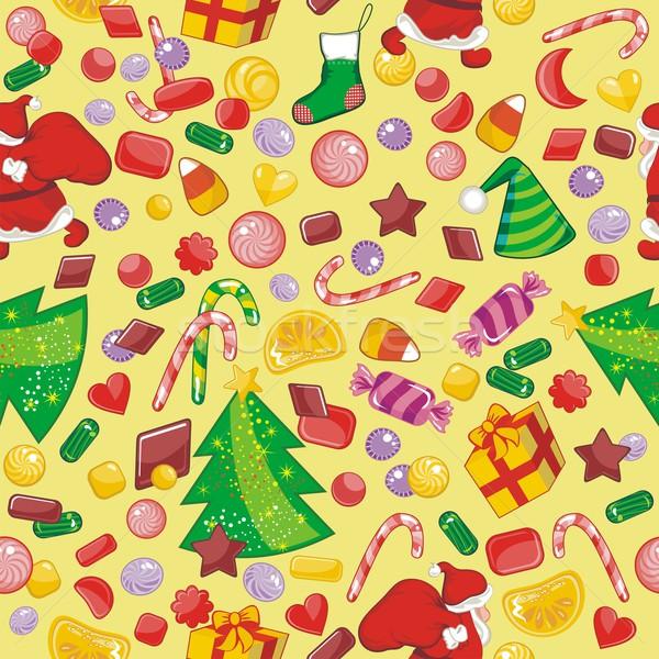 Natale stagionale oggetti party Foto d'archivio © yurumi