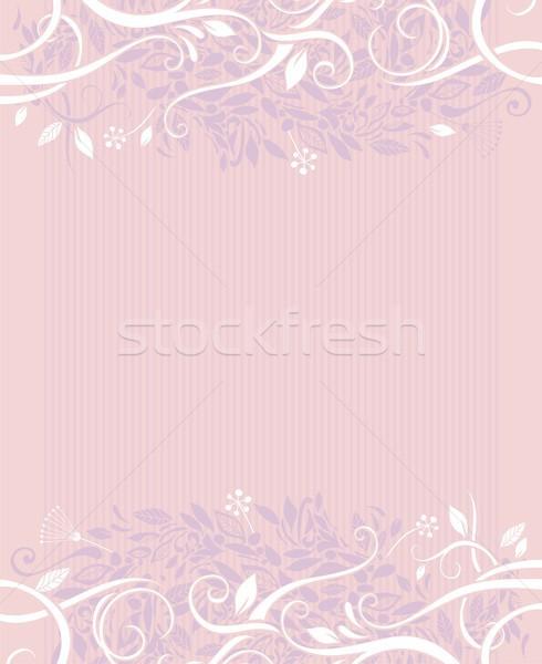 Decorative wedding background Stock photo © yurumi