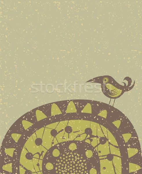 Bird background Stock photo © yurumi