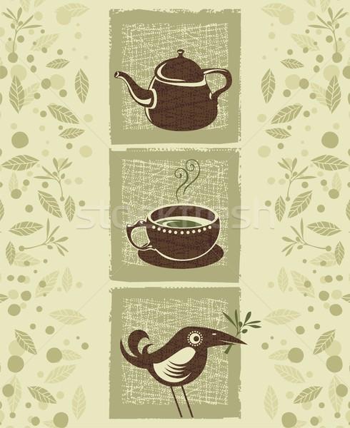 Tea Time Stock photo © yurumi