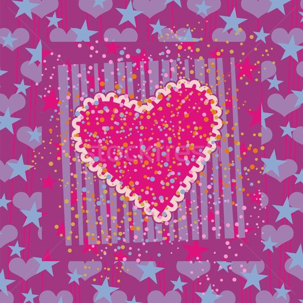 Abstract Valentines Background Stock photo © yurumi