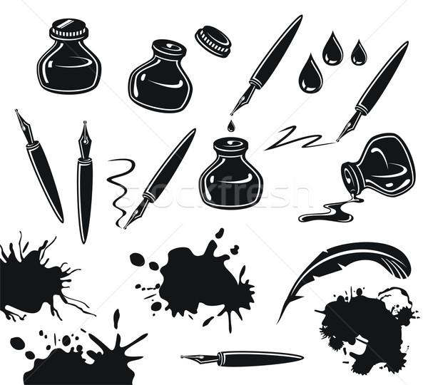 Ink Set Stock photo © yurumi