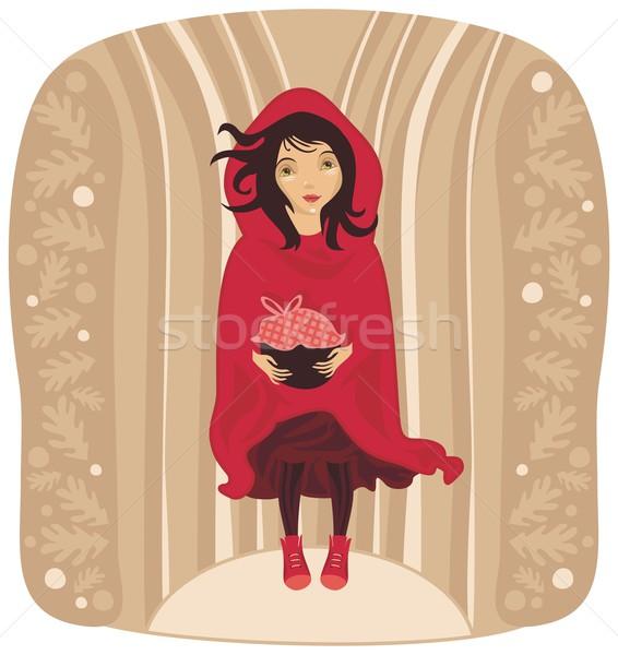 Red Riding Hood Stock photo © yurumi