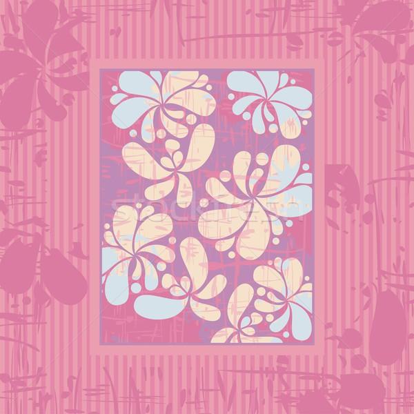 Floral Background Stock photo © yurumi