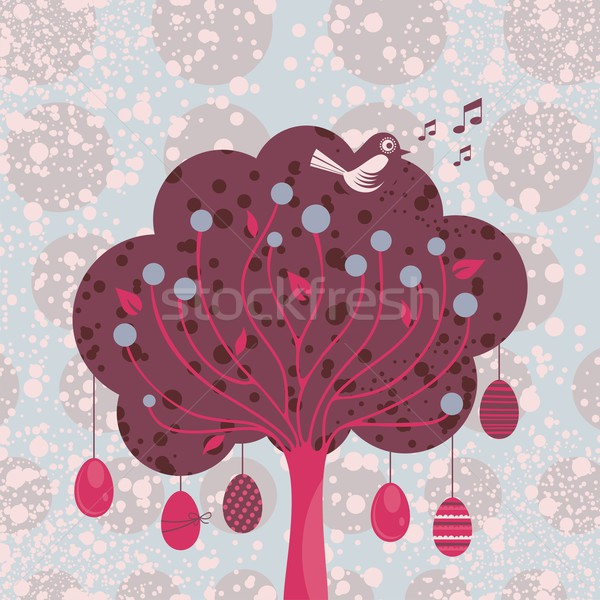 Decorative Easter Tree Stock photo © yurumi