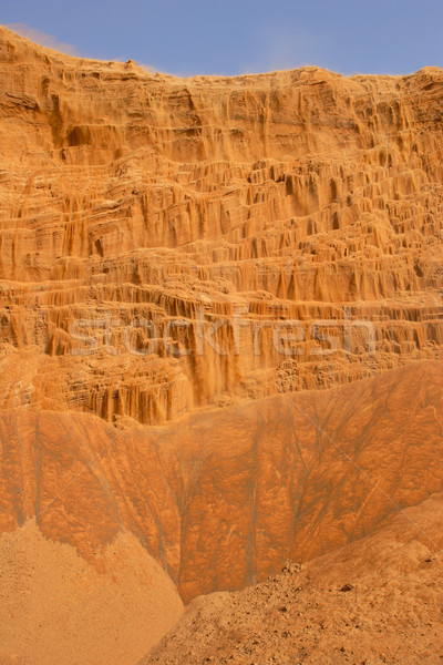 Desert Sandfall Stock photo © zambezi