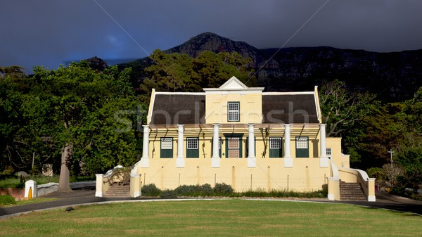 Tokai Manor House Stock photo © zambezi