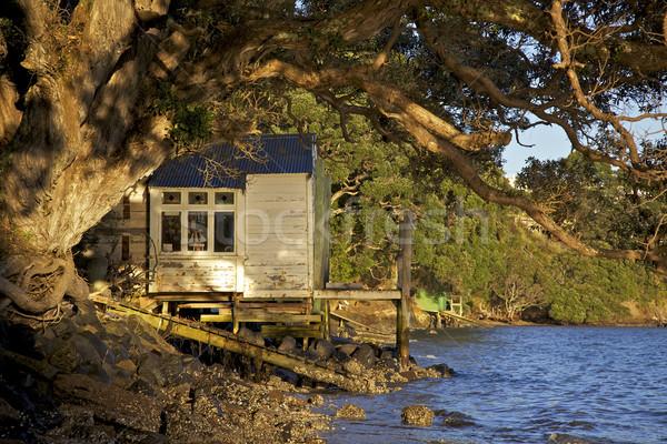 Old Boathouse Stock photo © zambezi