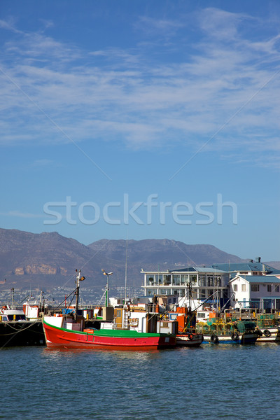 Kalk Bay Harbour Stock photo © zambezi