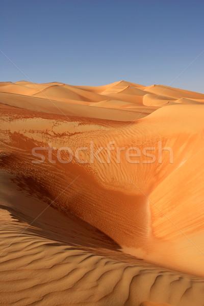 空っぽ 四半期 抽象的な パターン オマーン サウジアラビア ストックフォト © zambezi