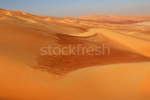 Stock photo: Empty Quarter Dunes