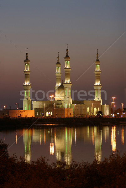Sheik Zayed Mosque Stock photo © zambezi