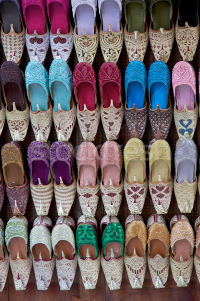 Arabian Shoes Stock photo © zambezi
