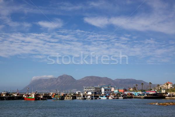 Kalk Bay Harbour Stock photo © zambezi