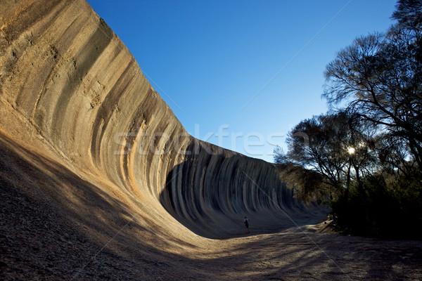 Wave Rock Stock photo © zambezi