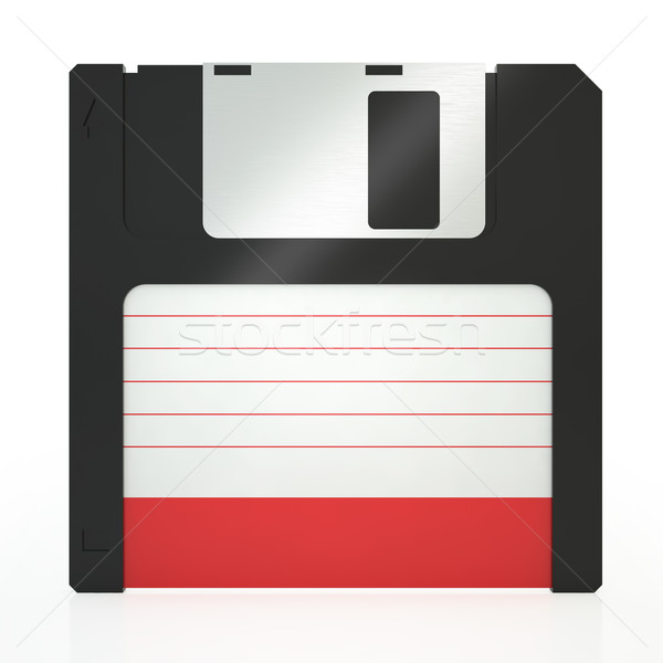 Illustration of old floppy Stock photo © ZARost